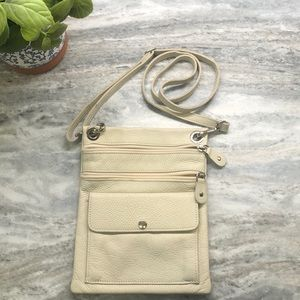 Roots Genuine Leather Crossbody Bag